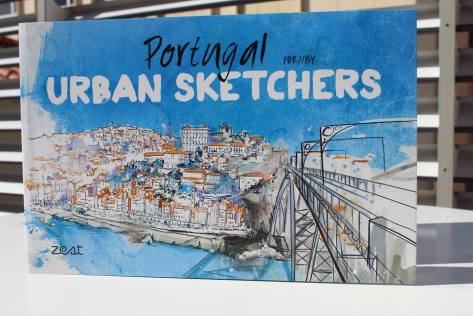 Novo LIVRO – Portugal por / by Urban Sketchers