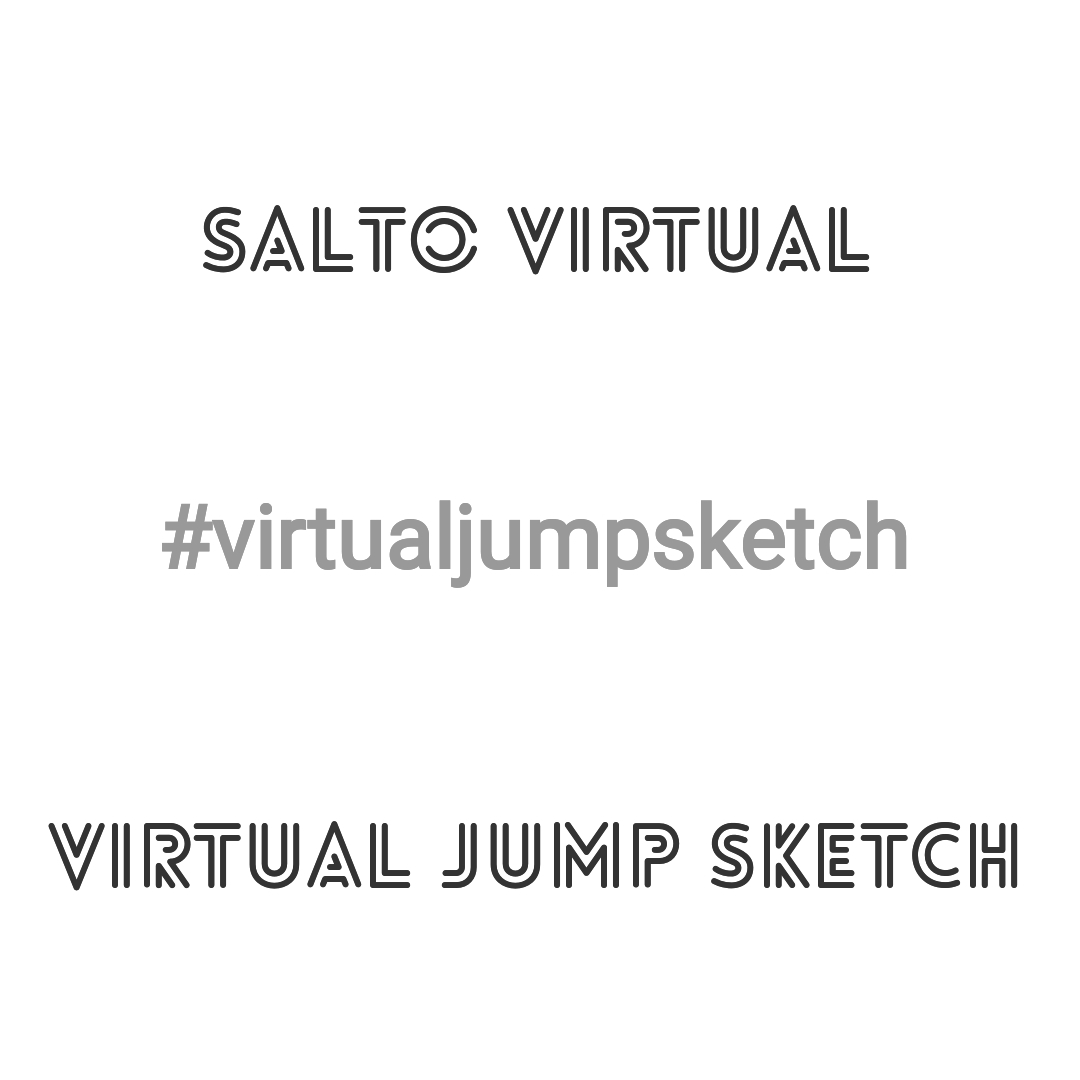 #VirtualJumpSketch Project | Projecto Salto Virtual