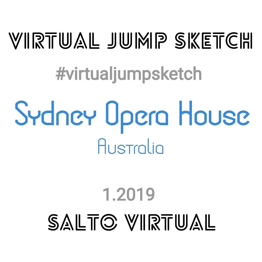 Sydney Opera House, Australia, Virtual Jump Sketch, Drawing Challenge, Rita Caré, Teatro de Ópera, Sydney, Austrália, Desafio Salto Virtual, Desafio de Desenho, Salto Virtual